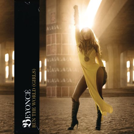 Beyonce - Run The World (Girls) single sleeve