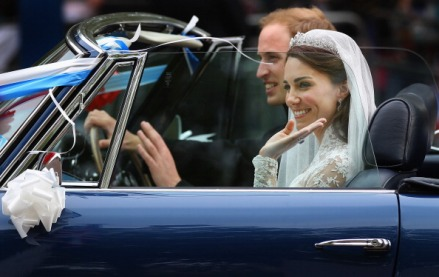 Newlywed Royals Leave Wedding Reception