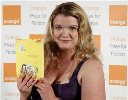 Tea Obrecht wins the Orange Prize for Fiction