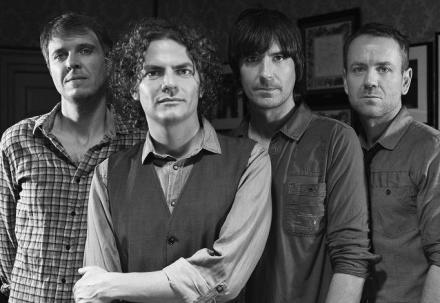 Toploader (L to R - Rob Green, Joe Washbourn, Dan Hipgrave and Matt Knight)