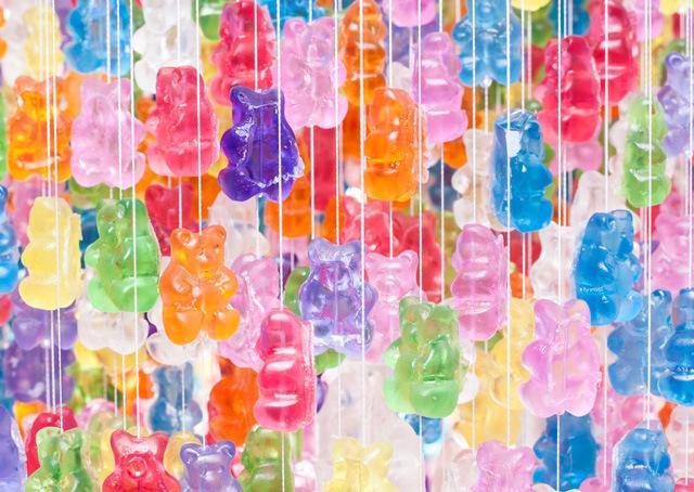 Gummy Bear Chandelier Kevin Champeny_06