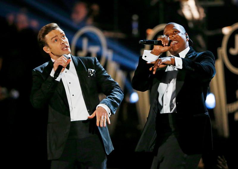 Justin Timbelake Jay Z Grammys