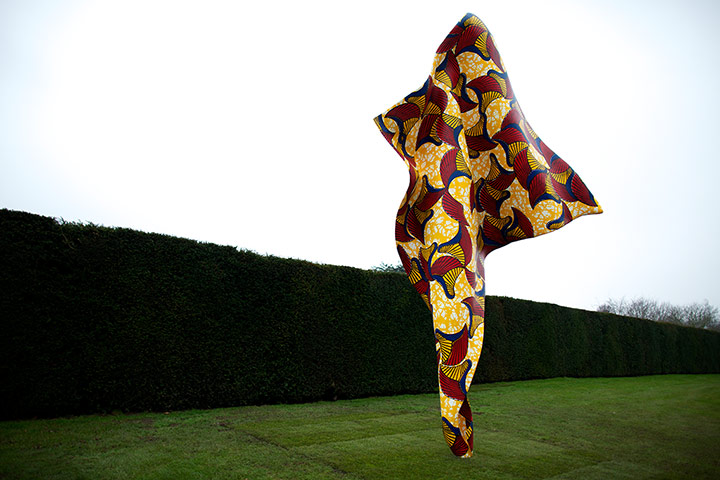 Yinka Shonibare's Frabric-ation exhibition