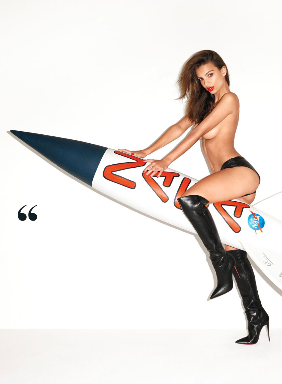 Emily Ratajkowski Terry Richardson GQ November_05