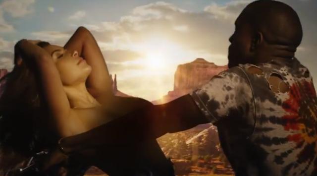 Kanye West Kim Kardashian Bound 2_02