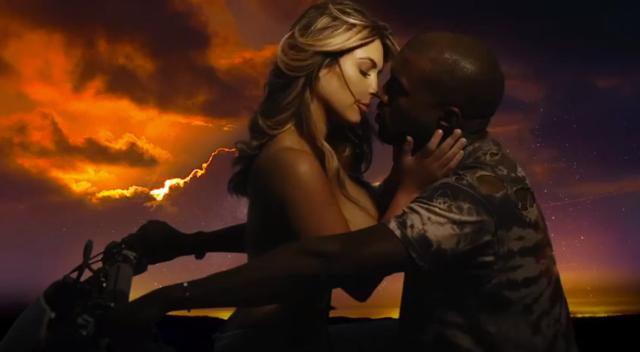 Kanye West Kim Kardashian Bound 2_17