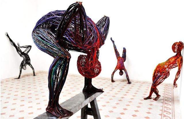 Judit Rita Rabóczky - Wire Sculptures_01