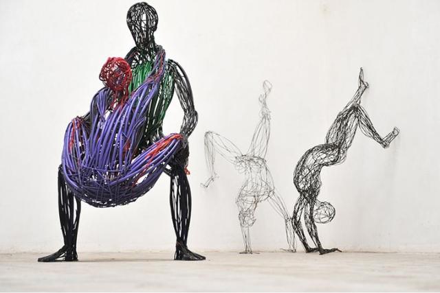 Judit Rita Rabóczky - Wire Sculptures_04