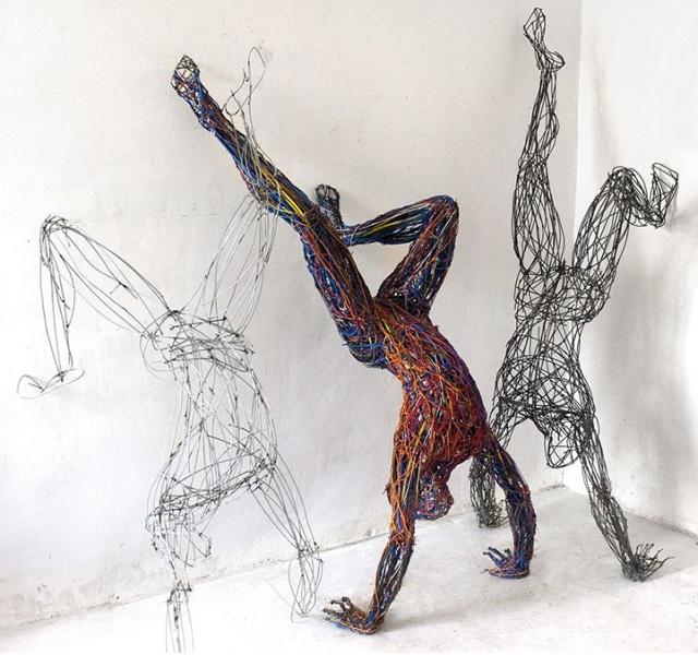 Judit Rita Rabóczky - Wire Sculptures_05