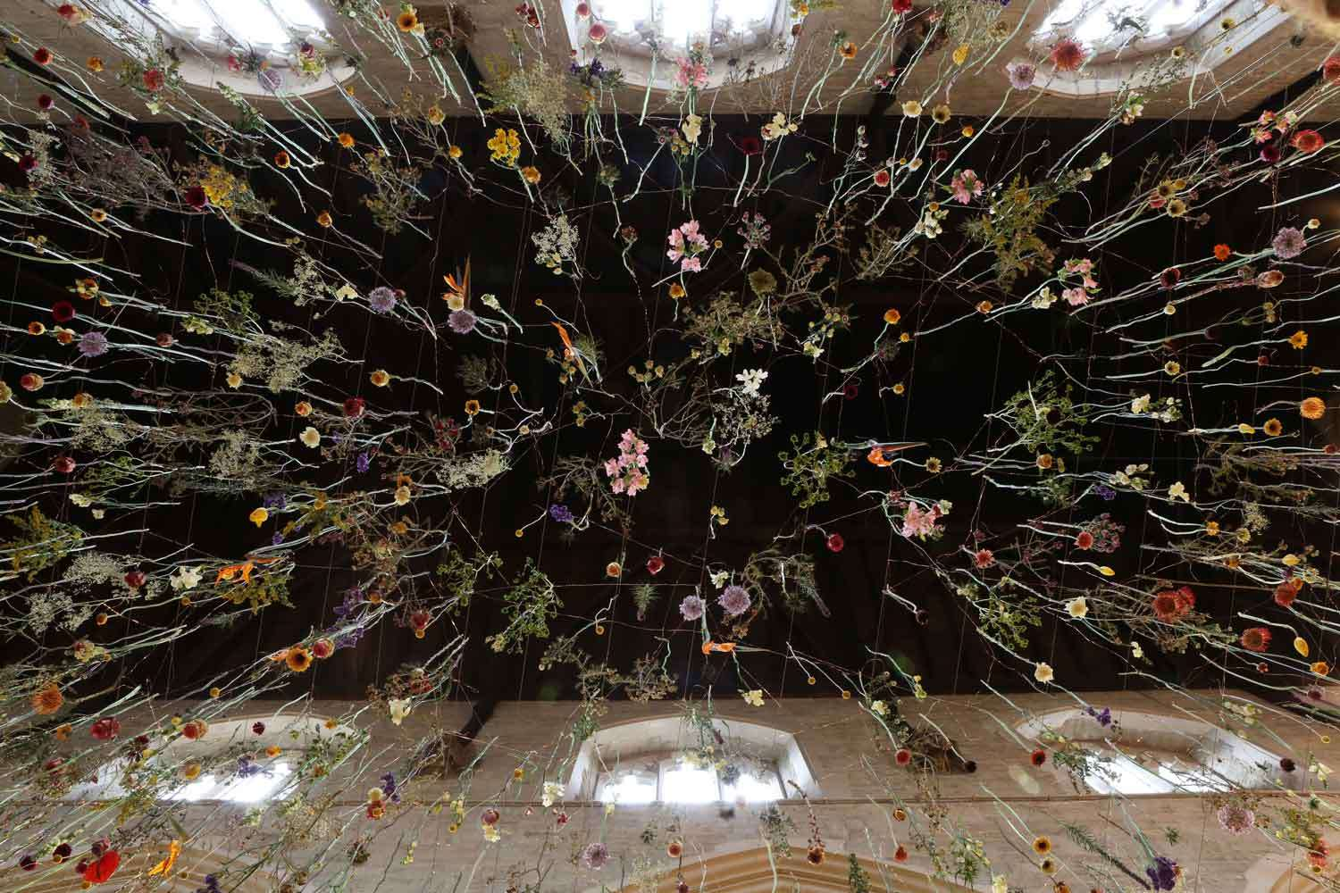 Rebecca Louise Law Suspended Floral Installations_04