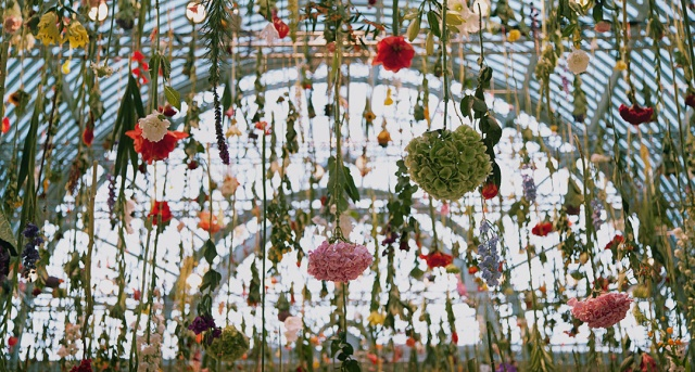 Rebecca Louise Law Suspended Floral Installations_14