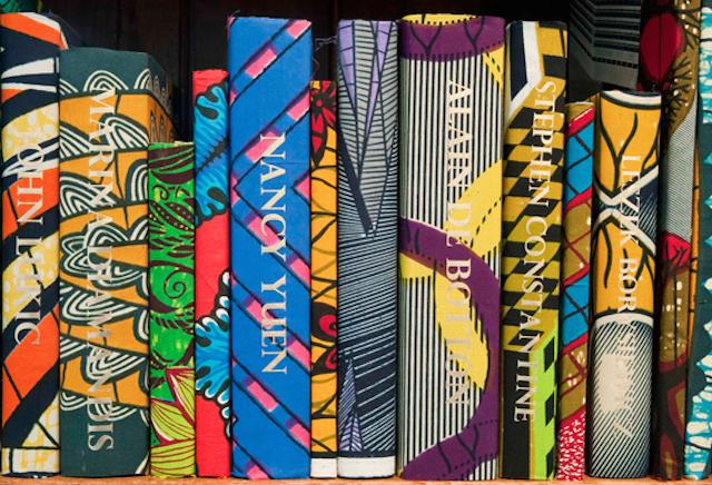 Yinka Shonibare British Library Batik Books_01