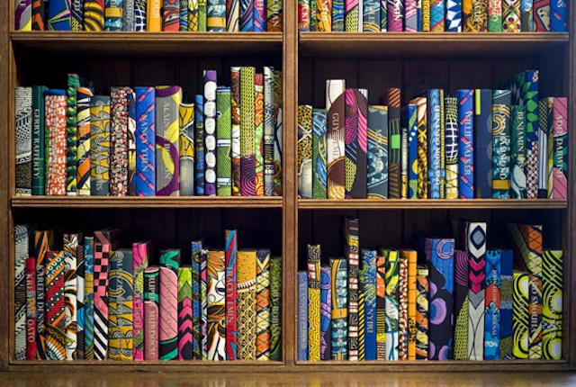 Yinka Shonibare British Library Batik Books_05