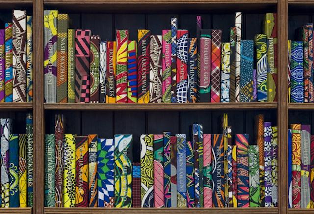 Yinka Shonibare British Library Batik Books_06