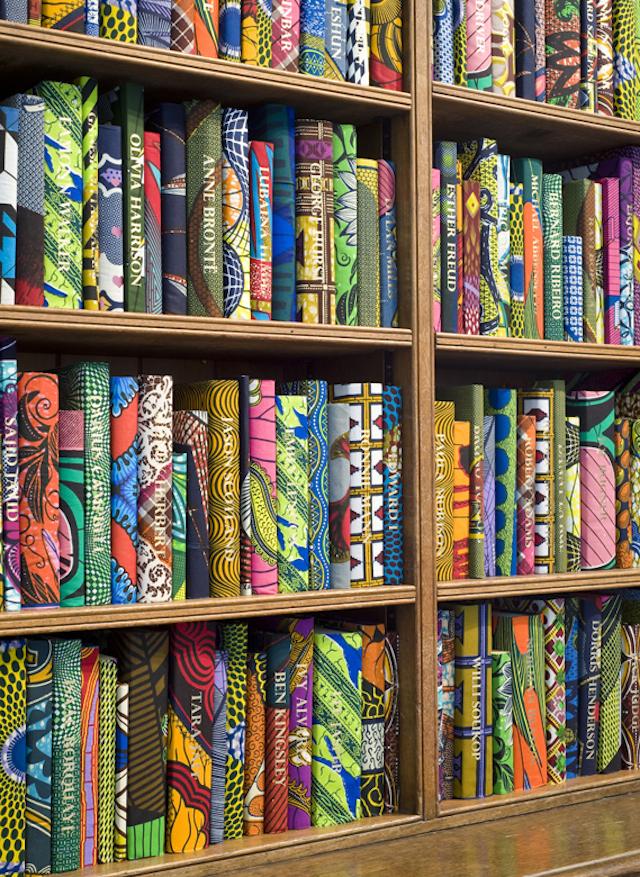 Yinka Shonibare British Library Batik Books_07